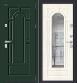 Дверь входная металлическая «Porta M-3 55.56» Green Stark/Nordic Oak - со звукоизоляцией - фото 13393