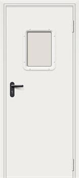 Входная Противопожарная дверь ДПО-1 - фото 13404