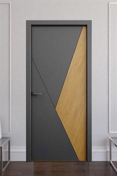 Звукоизоляционная Межкомнатная дверь Слэб-декор №6 ВИК - фото 13465