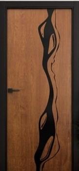 Звукоизоляционная Межкомнатная дверь Слэб-декор №9 МАККЕНЗИ - фото 13495