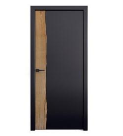 Звукоизоляционная Межкомнатная дверь Слэб-декор №11 ХОЛКХЭМ - фото 13512