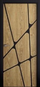 Звукоизоляционная Межкомнатная дверь Слэб-декор №12 ТИРА - фото 13518