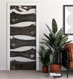 Звукоизоляционная Межкомнатная дверь Слэб-декор №13 МАЛЬТА - фото 13521