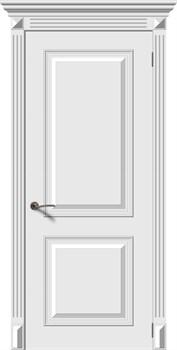 Влагостойкая Межкомнатная дверь Эмаль БАГЕТ 2 глухая - фото 13546