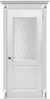Влагостойкая Межкомнатная дверь Эмаль ФОРТЕ со стеклом - фото 13582