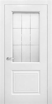 Влагостойкая Межкомнатная дверь Эмаль РОЯЛ 2 со стеклом - фото 13584