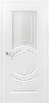 Влагостойкая Межкомнатная дверь Эмаль РОЯЛ 4 со стеклом - фото 13586
