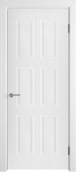 Влагостойкая Межкомнатная дверь Эмаль ЧЕЛСИ 08 глухая - фото 13587