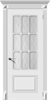 Влагостойкая Межкомнатная дверь Эмаль НОКТЮРН со стеклом - фото 13606
