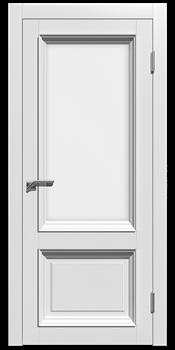 Влагостойкая Межкомнатная дверь Эмаль СТЕЛЛА 2 со стеклом - фото 13655