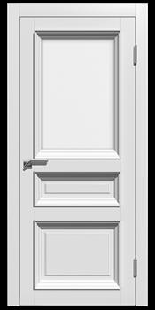 Влагостойкая Межкомнатная дверь Эмаль СТЕЛЛА 3 со стеклом - фото 13657