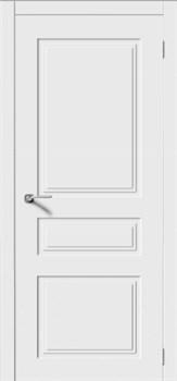 Влагостойкая Межкомнатная дверь Эмаль КВАДРО 4 глухая - фото 13714
