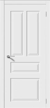 Влагостойкая Межкомнатная дверь Эмаль КВАДРО 5 глухая - фото 13720