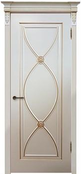 Влагостойкая Межкомнатная дверь Эмаль с патиной ФЛАМЕНКО - фото 13732
