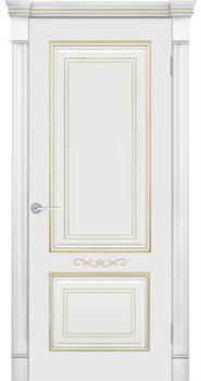 Влагостойкая Межкомнатная дверь Эмаль с патиной ФЕЛИСА - фото 13734