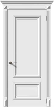 Влагостойкая Межкомнатная дверь Эмаль ЭММА 1 глухая - фото 13882