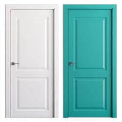 Влагостойкая Звукоизоляционная Межкомнатная дверь Эмаль КОЛОР №1 - фото 13913