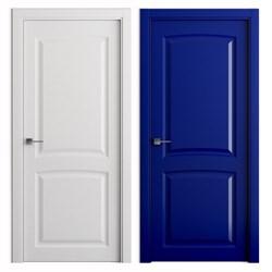 Влагостойкая Звукоизоляционная Межкомнатная дверь Эмаль КОЛОР №2 - фото 13915