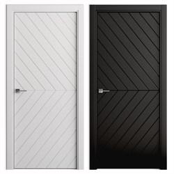 Влагостойкая Звукоизоляционная Межкомнатная дверь Эмаль КОЛОР №3 - фото 13917