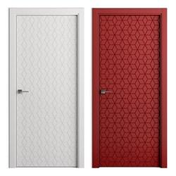 Влагостойкая Звукоизоляционная Межкомнатная дверь Эмаль КОЛОР №7 - фото 13925