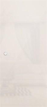 Межкомнатная дверь Стеклянная Купе Лайт Белое Сатинато - фото 4660