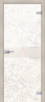 Межкомнатная дверь Стеклянная Флори Белая - фото 4672