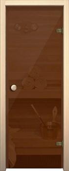 Дверь Стеклянная Кноб Е Бронза тонированное - фото 4673