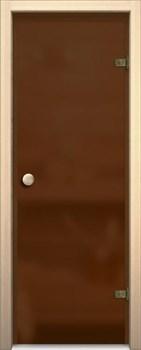 Дверь Стеклянная Кноб Е Бронза Сатинато - фото 4674