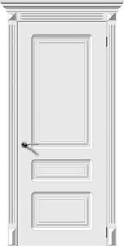 Межкомнатная дверь Эмаль Trio глухая - фото 4862