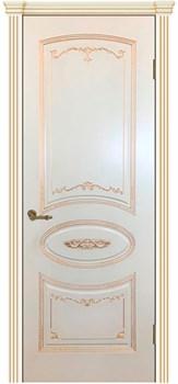 Межкомнатная дверь Эмаль Vual с патиной - фото 5039