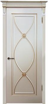 Межкомнатная дверь Эмаль Flamenko с патиной - фото 5075