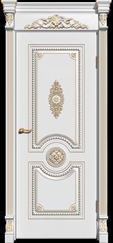 Межкомнатная дверь Эмаль patina Olimp глухая - фото 5133
