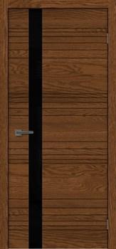 Межкомнатная дверь СИТИ 1 СТЕКЛО ЧЕРНОЕ - фото 5473