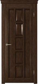 Межкомнатная дверь шпонированная КВАДРА глухая - фото 5499
