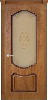 Межкомнатная дверь ПРЕСТИЖ 3D со стеклом - фото 5532
