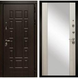 Входная металлическая дверь в квартиру МД-38 с зеркалом - фото 5593