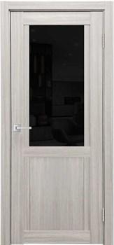 Межкомнатная дверь K-12 со стеклом и зеркалом - фото 6221