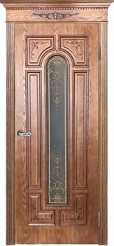 Межкомнатная дверь АРЕС остекленная - фото 7442