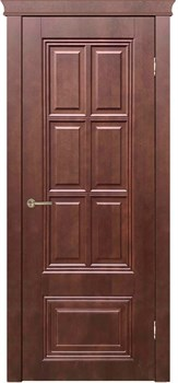 Межкомнатная дверь шпон ОПТИМА глухая - фото 7444