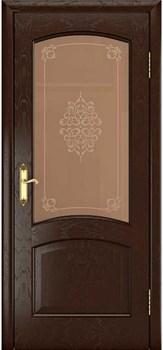 Межкомнатная дверь РОСТРА 2 со стеклом - фото 7568