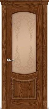 Межкомнатная дверь КАЛИСТО со стеклом - фото 7580