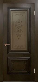 Межкомнатная дверь шпонированная ДУБ ВЕРСАЛЬ со стеклом - фото 7596
