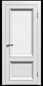 Межкомнатная дверь Эмаль СТЕЛЛА 2 со стеклом - фото 7733