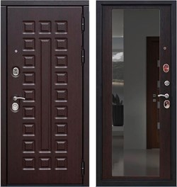 Входная металлическая дверь в квартиру SD PROF-5 СЕНАТОР ЗЕРКАЛО - фото 8000