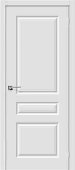 Межкомнатная дверь Скинни-14 П-23 (Белый) - фото 9606
