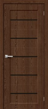 Межкомнатная дверь Экошпон Мода-22 Black Line Brown Dreamline - фото 9652