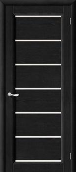 Межкомнатная дверь М2  Т-08 (Венге)/Матовое - фото 9863