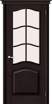 Межкомнатная дверь М7  Т-06 (Темный Лак)/Сатинато - фото 9886