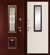 Входная металлическая дверь в дом уличная K-04