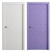 Межкомнатная дверь Эмаль kolor 9